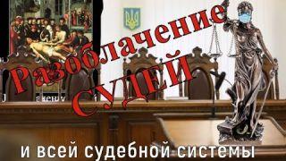 Разоблачение судей и всей частной коммерческой судебной системы.